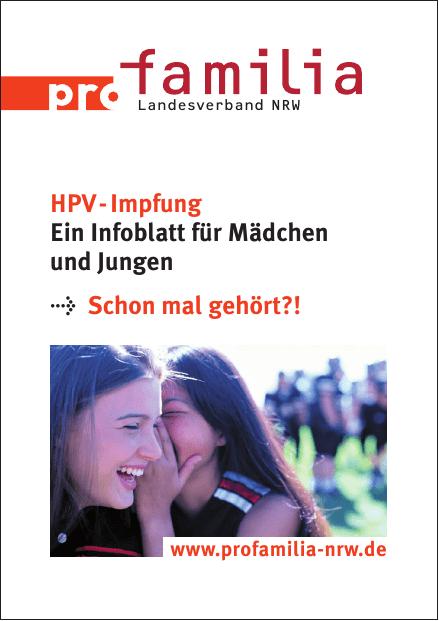 Hpv impfung jungen infoblatt Hpv impfung ja oder nein
