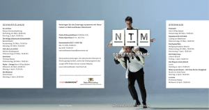 osterprogramm - Nationaltheater Mannheim