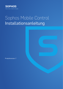 Sophos Mobile Control Installationsanleitung