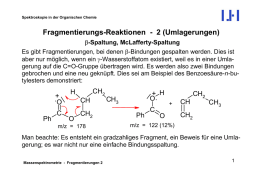Organische Chemie für Biologie und Ernährungslehre