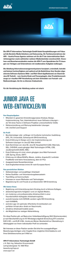junior java ee web-entwickler/in
