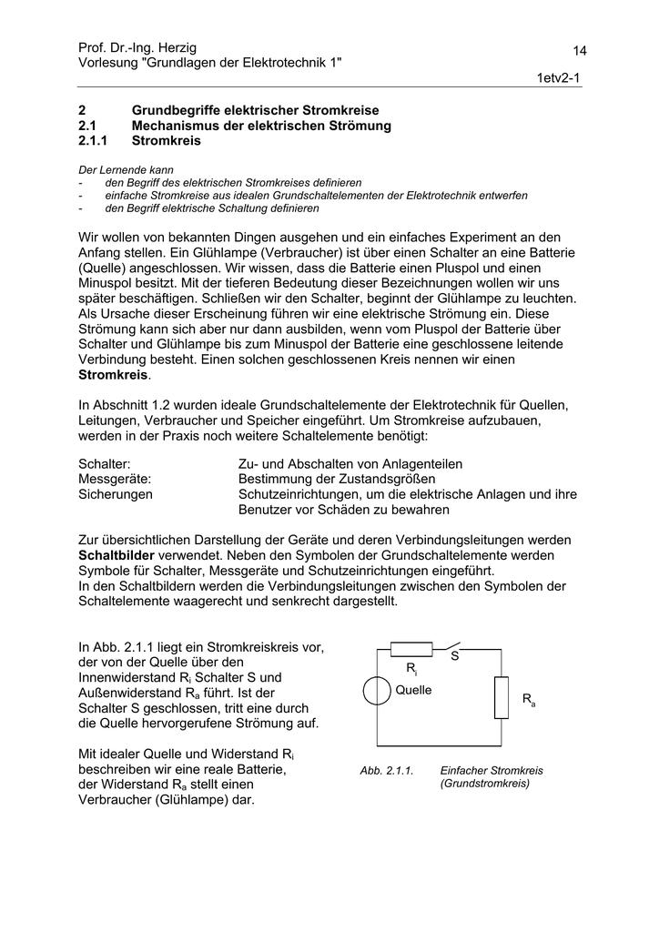 Prof. Dr.-Ing. Herzig Vorlesung \