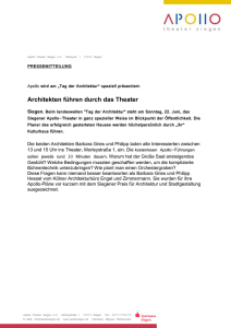 Frau - APOLLO-Theater Siegen
