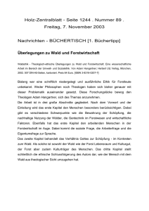 Rezension Holz-Zentralblatt als Word-Dokument