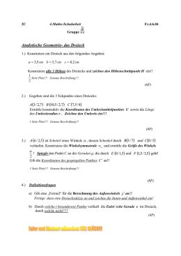 Mathematik/Jgstf 08/200 Kreise/Arbeitsblatt zum Umfangswinkelsatz