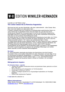 Pressetext - Edition Winkler