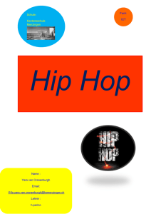 Hip Hop Inhalt