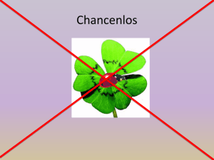 Chancenlos