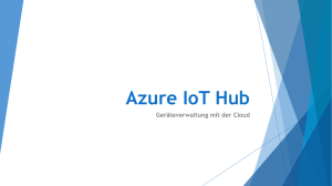 Azure IoT Hub - software architects gmbh