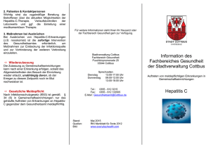 Flyer Hepatitis C