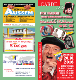 FLYER-Download - Lechenicher Stadtgarde