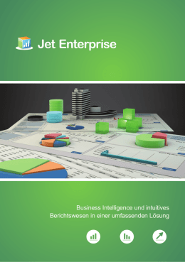 Jet Enterprise ist Business Intelligence und intuitives