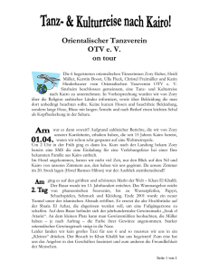 Orientalischer Tanzverein OTV e. V. on tour - zory