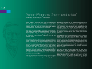 "Richard Wagners ""Tristan und Isolde"""