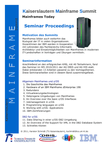 Mainframe Summit Seminar-Proceedings