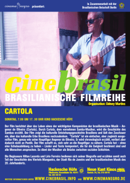 Cartola - Cinemanegro