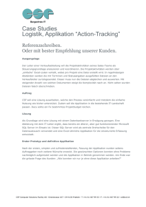 Action-Tracking - CSF (Computer Solutions Facility AG)