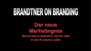 Der neue Marketingmix