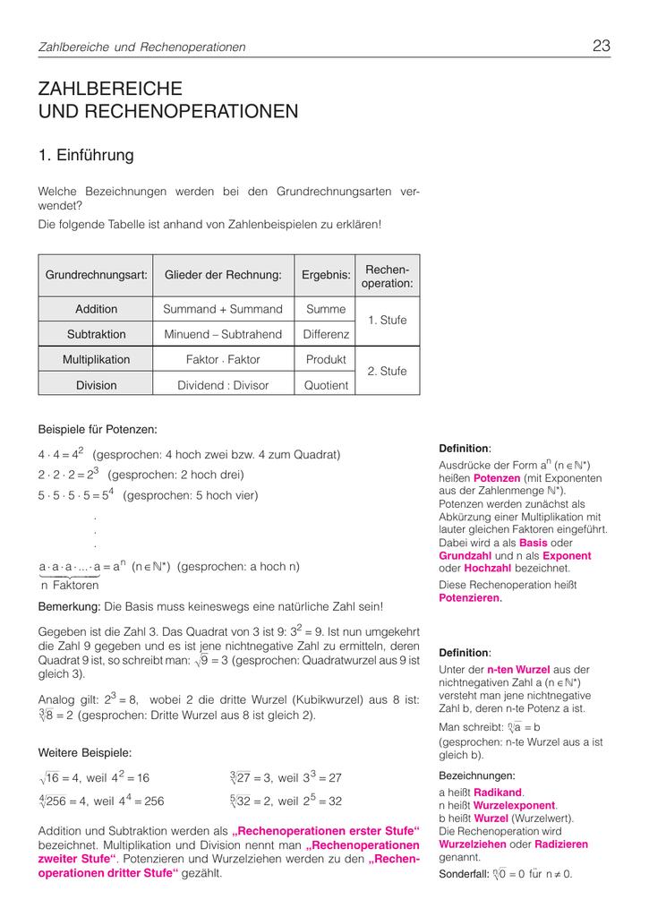 Nice Multiplizieren Und Dividieren Ganze Zahlen Einer Tabelle Mit ...