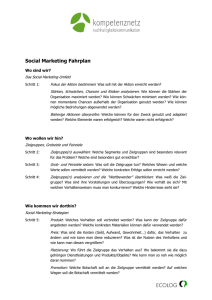 Social Marketing Fahrplan - 21-kom