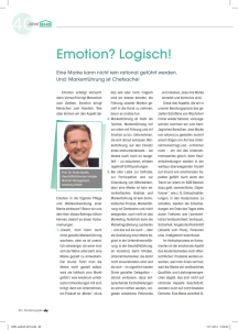 Emotion? Logisch!