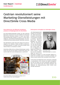 Cestrian revolutioniert seine Marketing