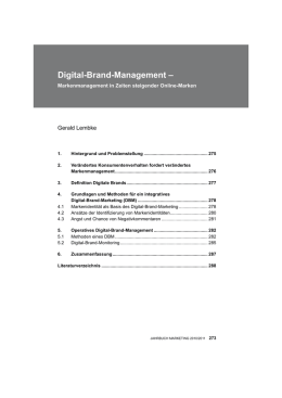 Digital-Brand-Management
