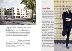 WPM Interview mit Architektin Donatella Fioretti