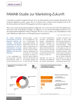 FAMAB-Studie zur Marketing