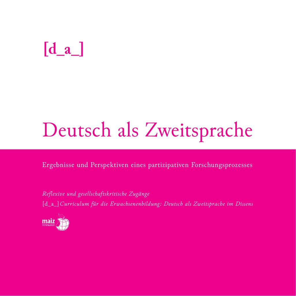 Deutsch als Zweitsprache - Ergebnisse und Perspektiven