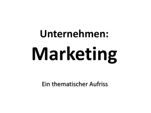 Marketing - e