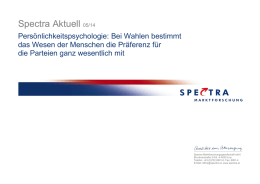 Spectra Aktuell 05/2014