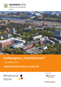 "Fachkongress ""Social Business"""