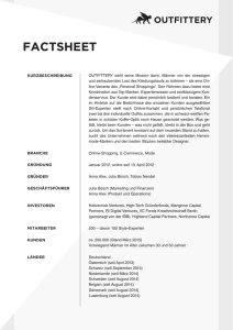 factsheet - Outfittery