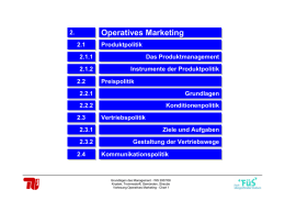 Operatives Marketing - marketing.tu