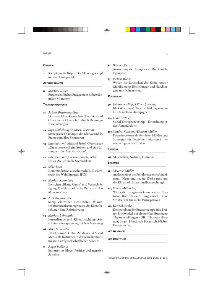 Internationale Klimapolitik rund um die Entstehung des Kyoto-Protokolls (German Edition)