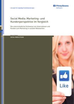 Social Media: Marketing- und Kundenperspektive im