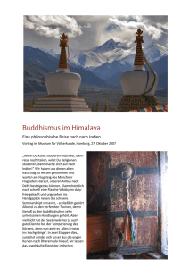 Buddhismus im Himalaya - Philosophisches Forum
