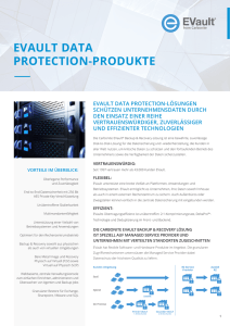 EVAULT DATA PROTECTION-PRODUKTE