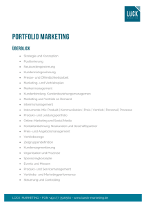 portfolio marketing