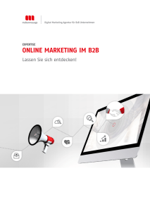 online marketing im b2b