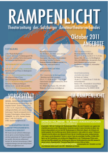 10 2011 - Salzburger Amateurtheaterverband