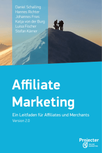 Affiliate Marketing eBook