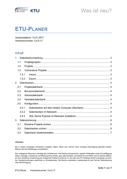 etu-planer - Hottgenroth Software