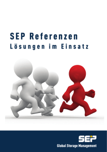 SEP Referenzen