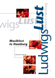 Musikfest in Hamburg