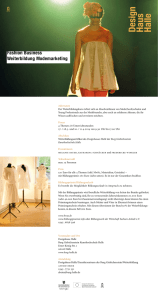 Fashion Business Weiterbildung Modemarketing A