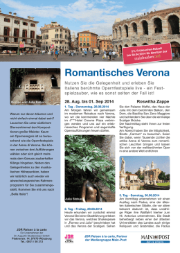 Romantisches Verona - Main-Post