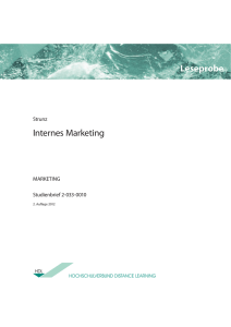 Internes Marketing Leseprobe