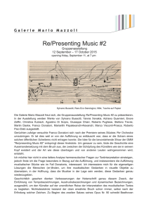 Re/Presenting Music #2